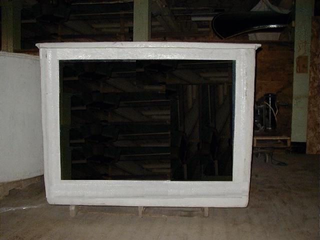 500 GALLON FIBERGLASS AQUARIUM TANK (